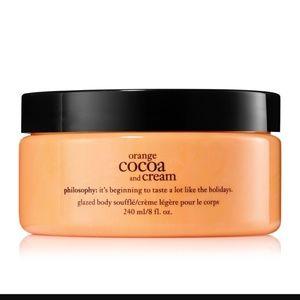 Philosophy Orange Cocoa & Cream Body Souffle 8 oz